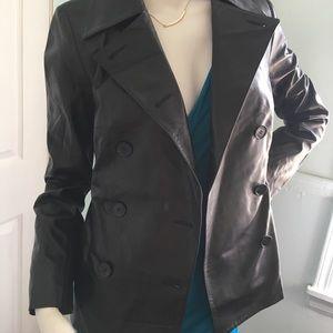 Elie Tahari Jackets & Coats - $796 Elie Tahari Lambskin Leather Jacket SX